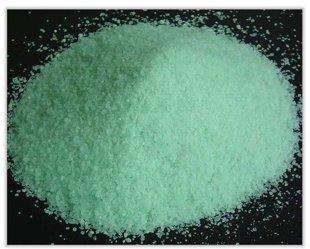 dzelzs vitriols (sulfāts)